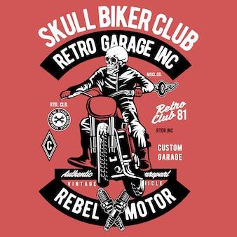 Biker-schädel