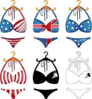 Bikini-set abbildung