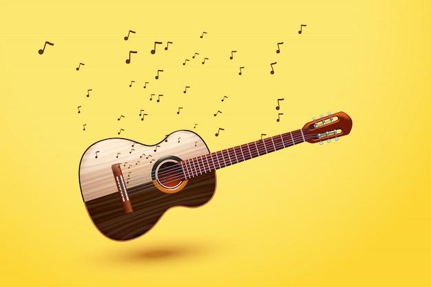 Bild der gitarre