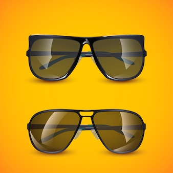 Bild der sonnenbrille