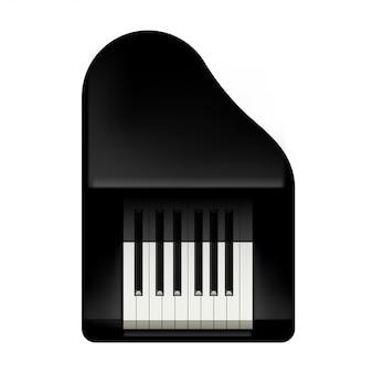 Bild des klaviers kurz