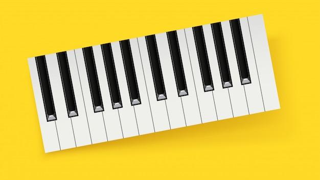 Bild des klaviers