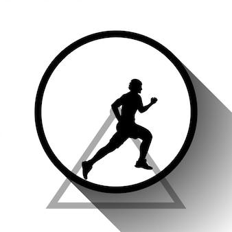 Bild des läufers