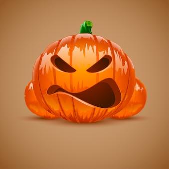 Bild von halloween-kürbis