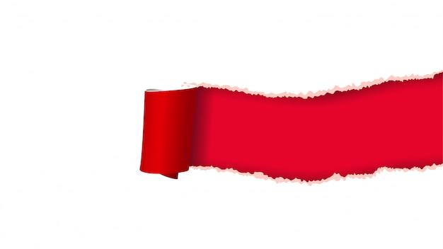 Bild von papier zerrissen