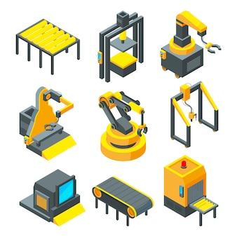 Bilder von industriewerkzeugen für fabrik