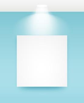 Bilderrahmen mit hellen abbildungen