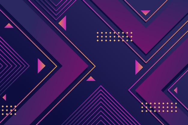Bildschirmschoner von gradienten geometrischen formen