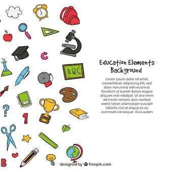 Bildung elemente hintergrund