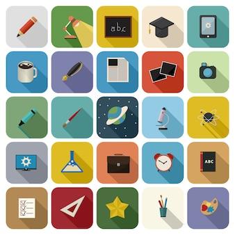 Bildung-icon-set