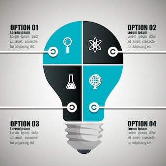 Bildung infografik