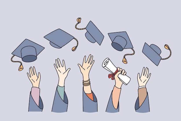 Bildung und lernkonzept bekommen getting