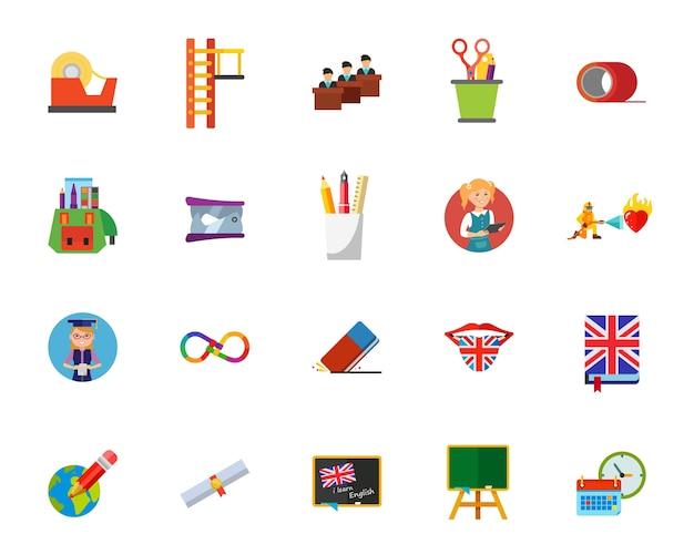 Bildungs-icon-set
