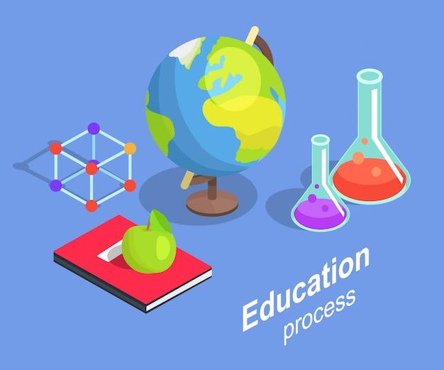 Bildungsprozess sammlung wissenschaftlicher objekte