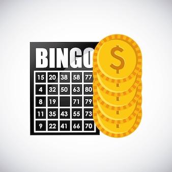 Bingo casino spiel symbol