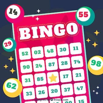 Bingo hintergrund design