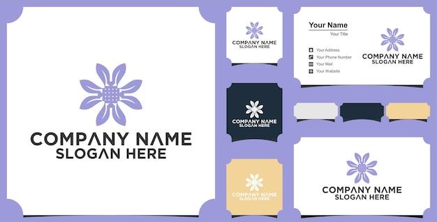 Bio-blatt-logo und visitenkarte