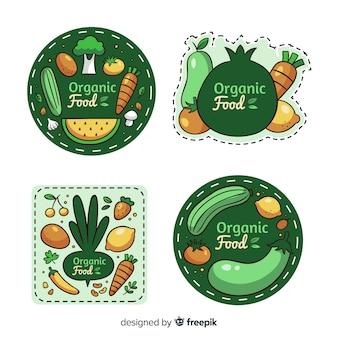 Bio-lebensmittel-label-auflistung