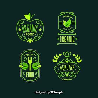 Bio-lebensmitteletikettenpackung