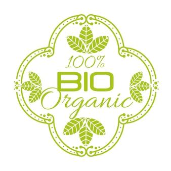 Bio-produkt garantiert siegel