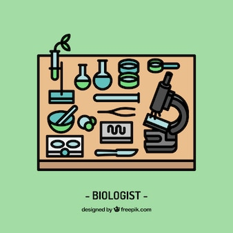 Biologe arbeitsplatzgestaltung