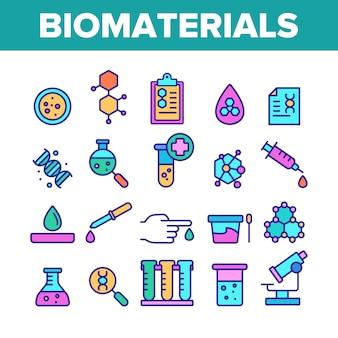 Biomaterialien, medizinische analyse