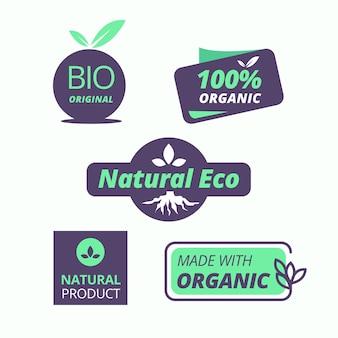 Bioprodukt-emblem