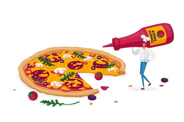 Bistro italienisches essen kochen und essen