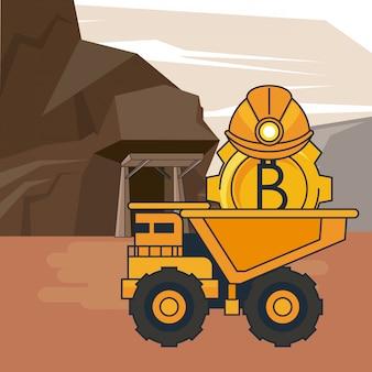 Bitcoin bergbau cartoons