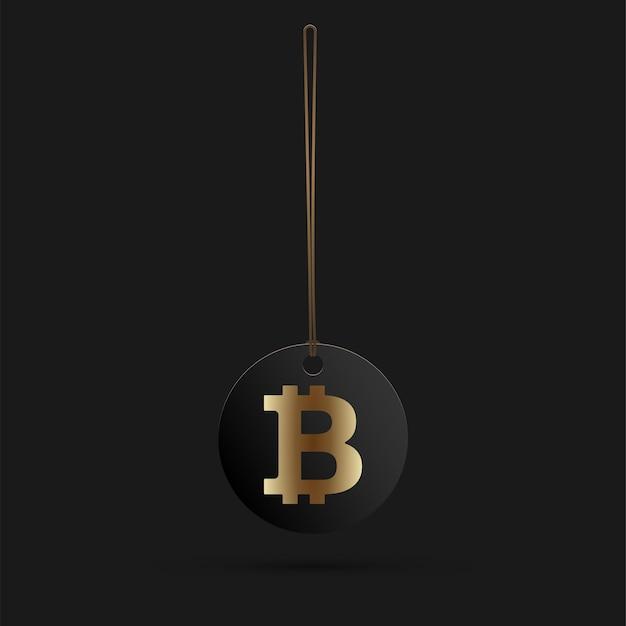 Bitcoin digitales währungszeichen