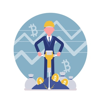 Bitcoin minig man geschäft