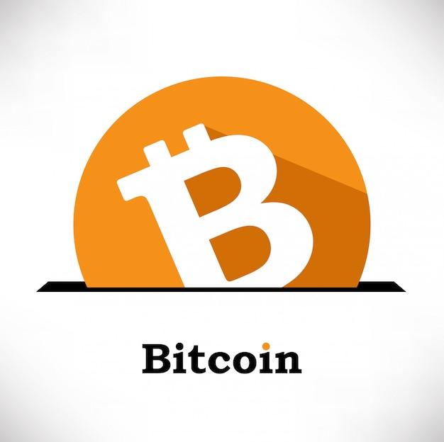 Bitcoin-symbolvektorzusammensetzung