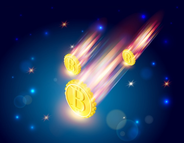 Bitcoins fällt
