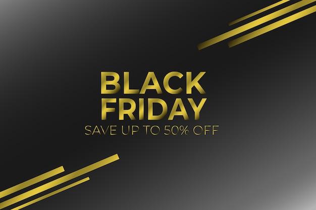 Black friday banner zum verkauf promotion-produkt