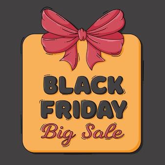 Black friday big sale label