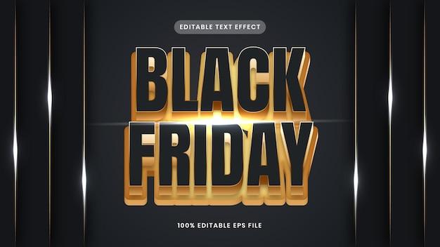 Black friday gold texteffekt