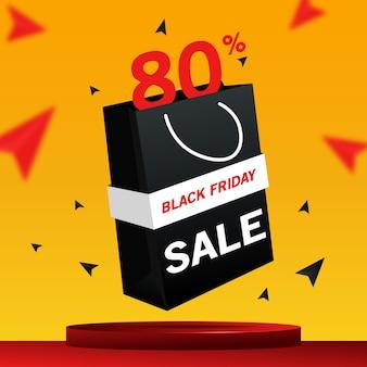 Black friday sale 3d-banner