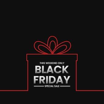 Black friday sale banner hintergrund