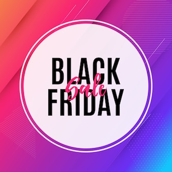 Black friday sale banner vorlage