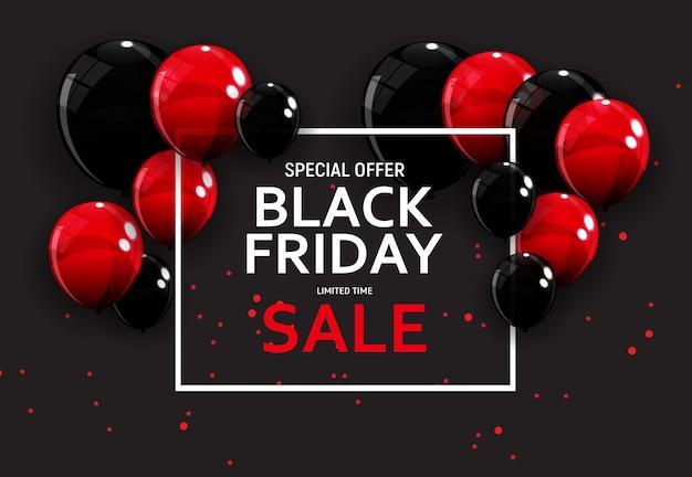 Black friday sale banner vorlage