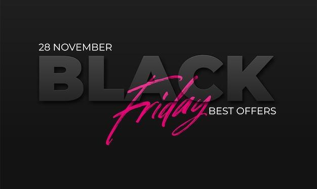 Black friday sale-banner