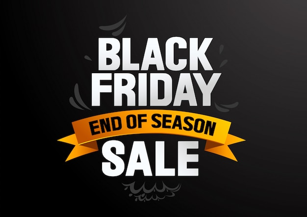 Black friday sale ende der saison