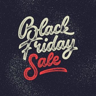 Black friday sale handgemachte schrift.
