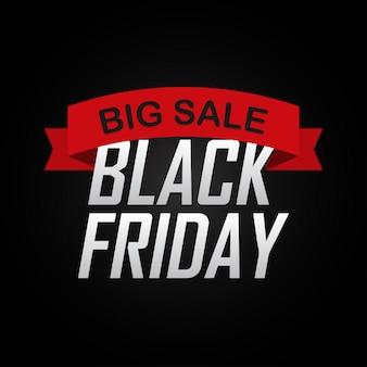 Black friday sale inschrift vorlage.