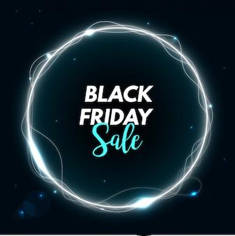 Black friday sale neon