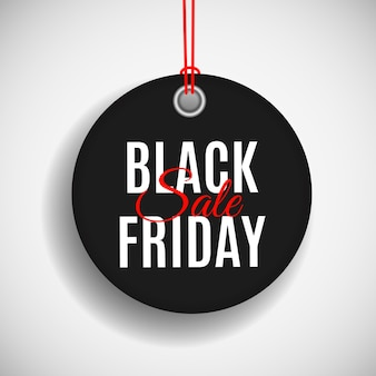 Black friday sale preisschild vorlage.