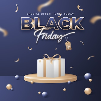 Black friday sale vorlage