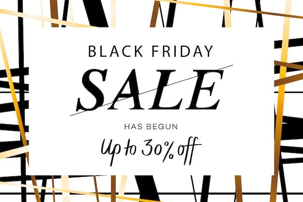 Black friday super sale web-banner.