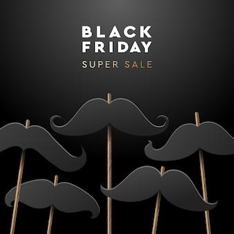Black friday super sale web-banner