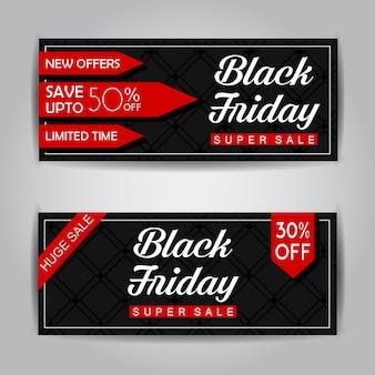 Black friday verkauf banner